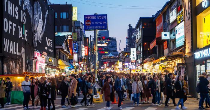 韓國夜市——弘大