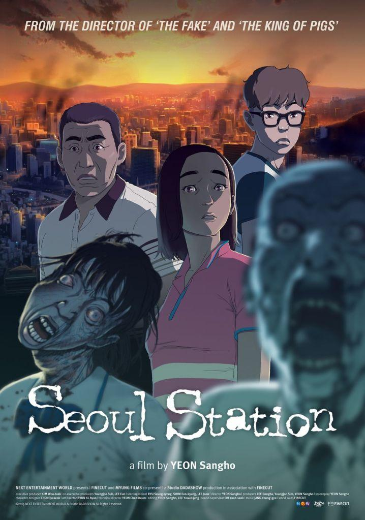 seoul station, korean zombie animation poster