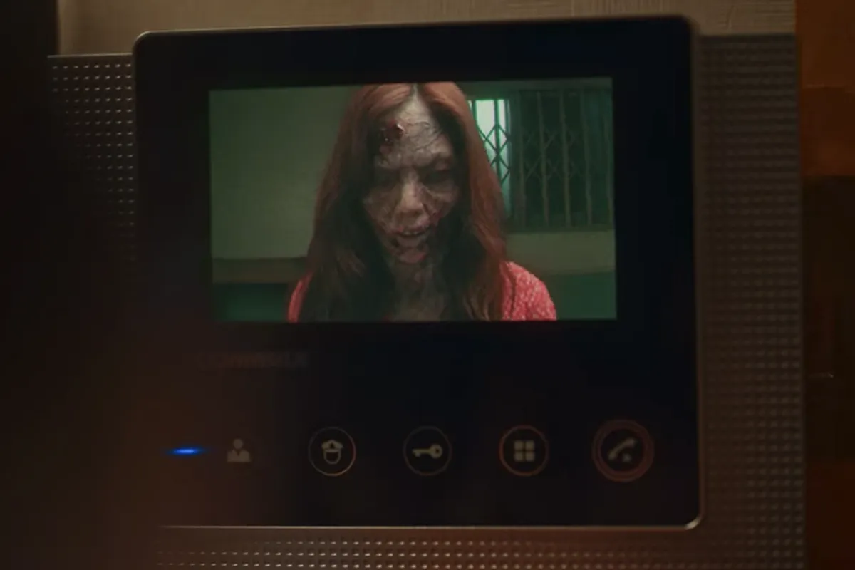 a monster on kdrama sweet home shown on camera