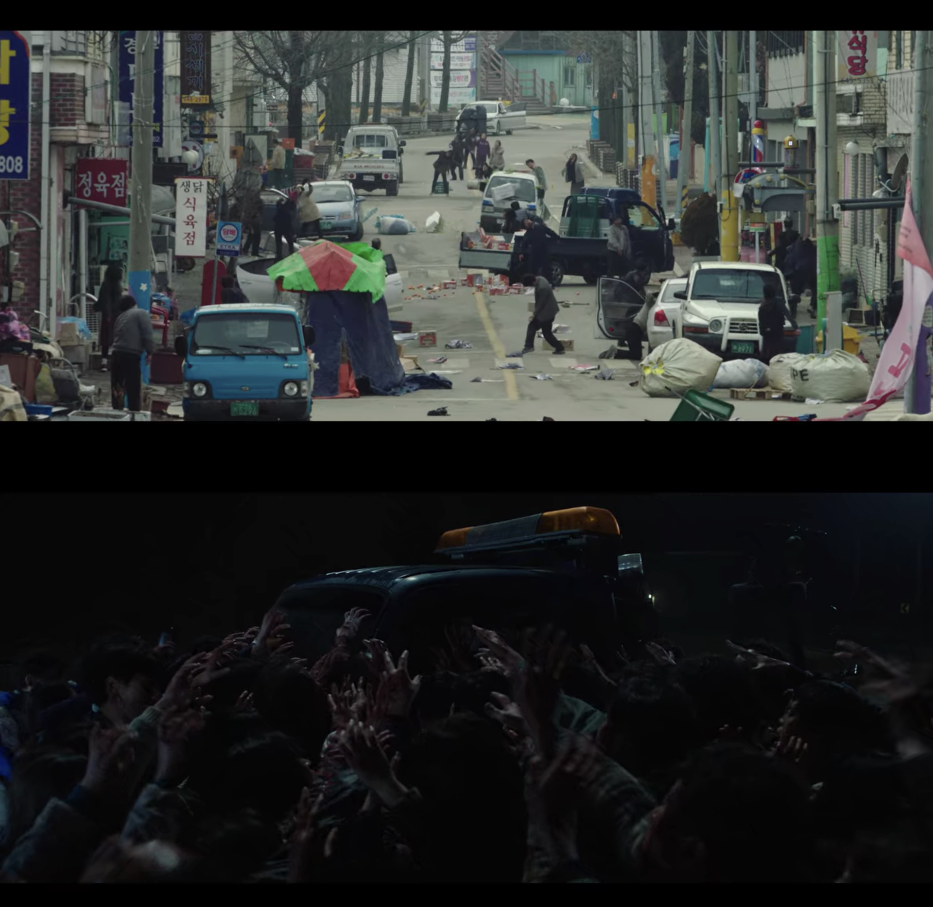 korean town deserted by zombies on korean zombie movie the odd family zombie on sale