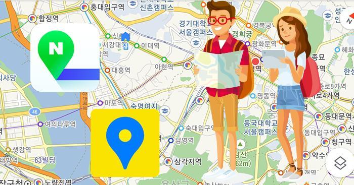 韓國旅遊必備地圖APP