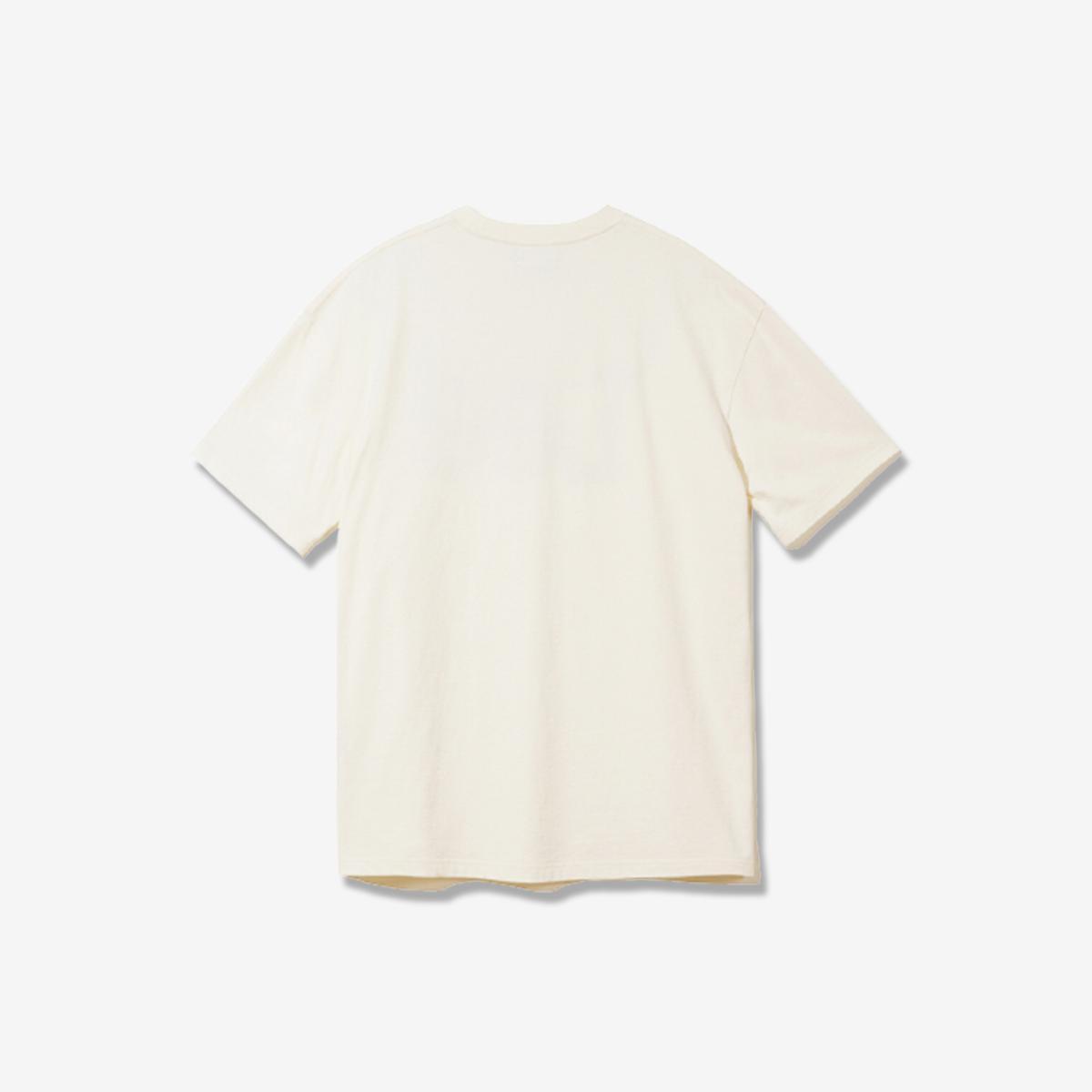 大標誌T恤(象牙白)