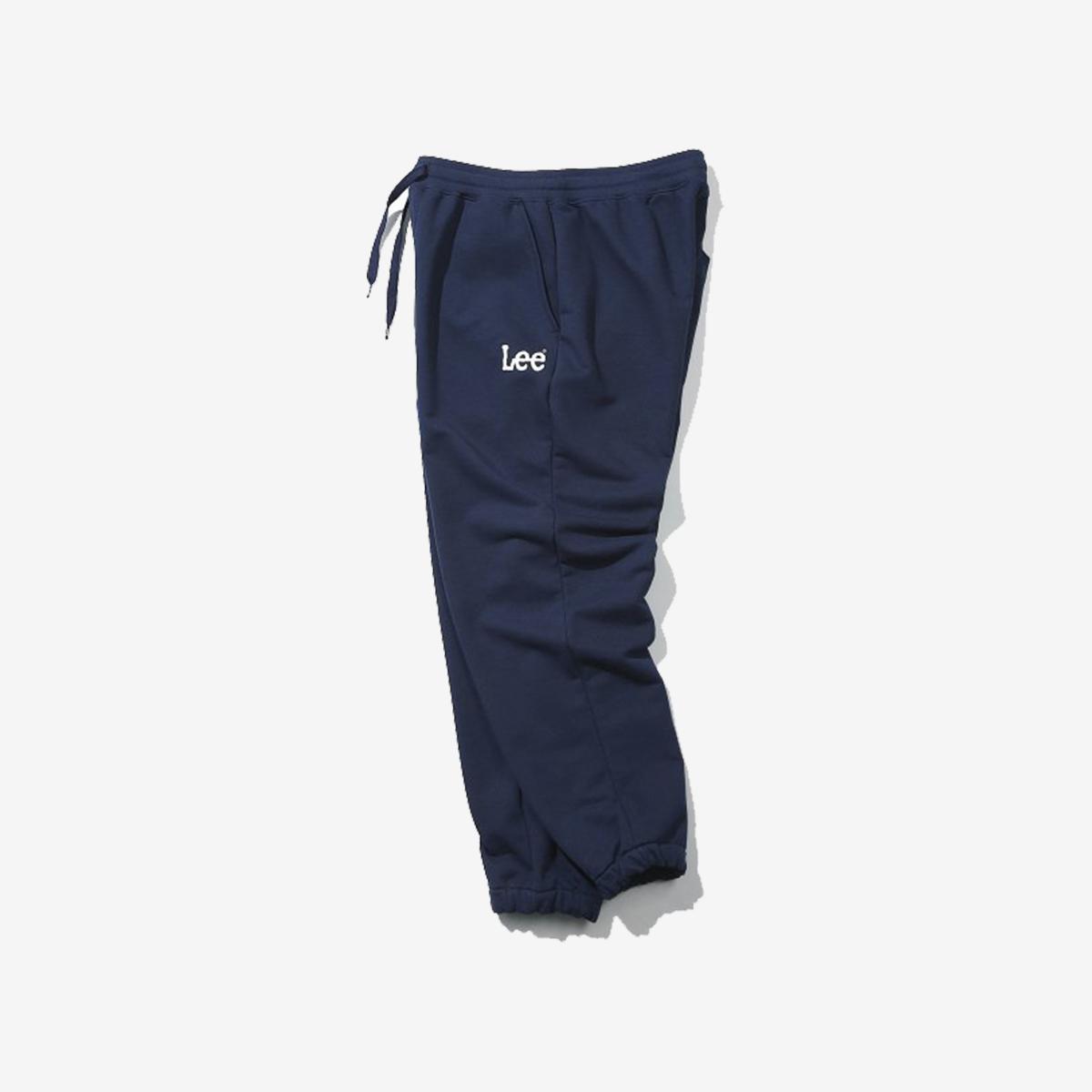 LOGO標誌運動褲(海軍藍)