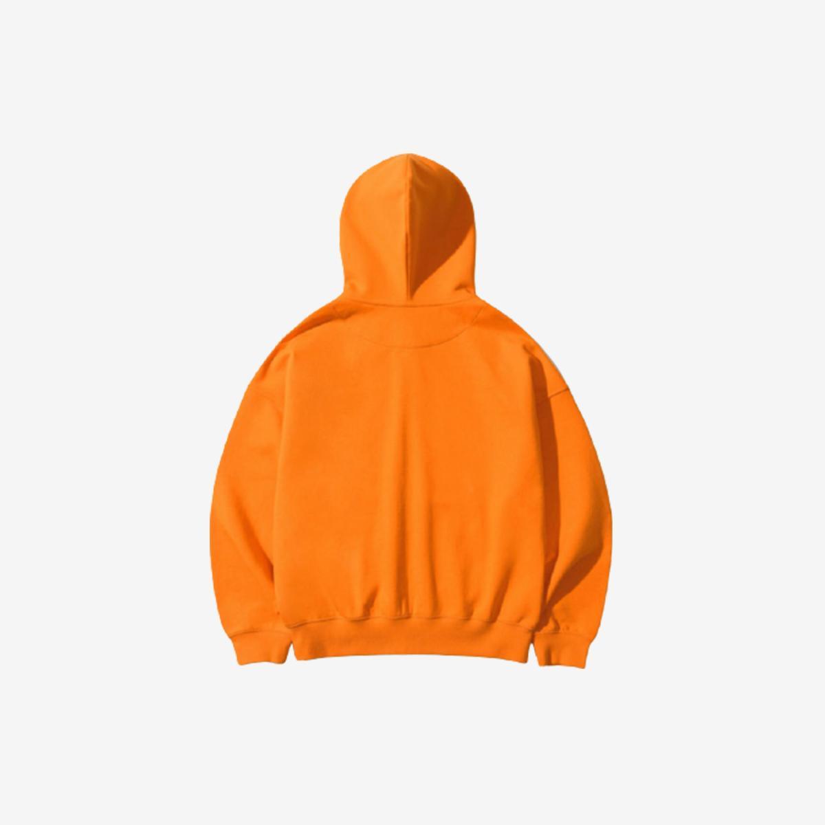 經典Logo連帽外套(橘色)