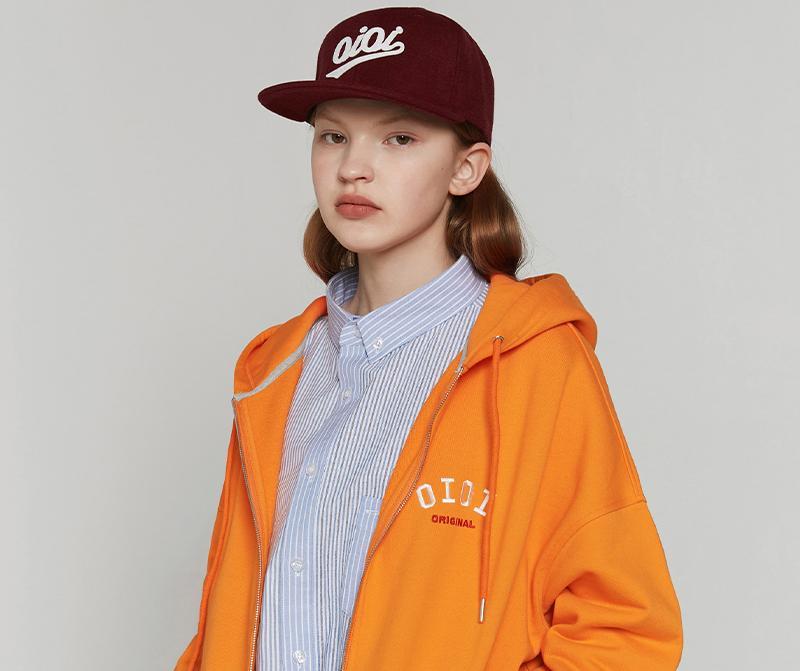 經典基本 LOGO連帽外套