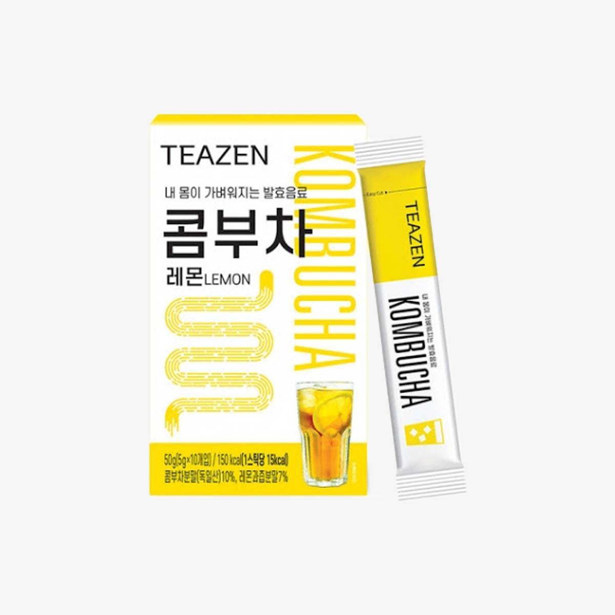 ⟪BTS同款⟫ 檸檬味康普茶(10包入)