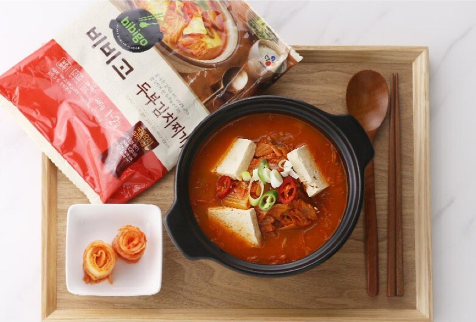 豆腐泡菜湯